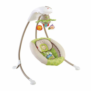 jcpenney.com | Fisher Price Deluxe Cradle N Swing Rainforest Friends