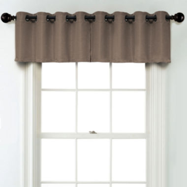 jcpenney.com | JCPenney Home Textured Blackout Grommet Unlined Tailored Valance