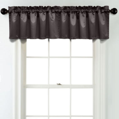 jcpenney.com | JCPenney Home Matte Satin Rod Pocket Blackout Lined Tailored Valance