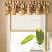 American Living Laura Rod-Pocket Scalloped Valance