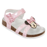 Disney® Minnie Mouse Girl Sandals - Toddler