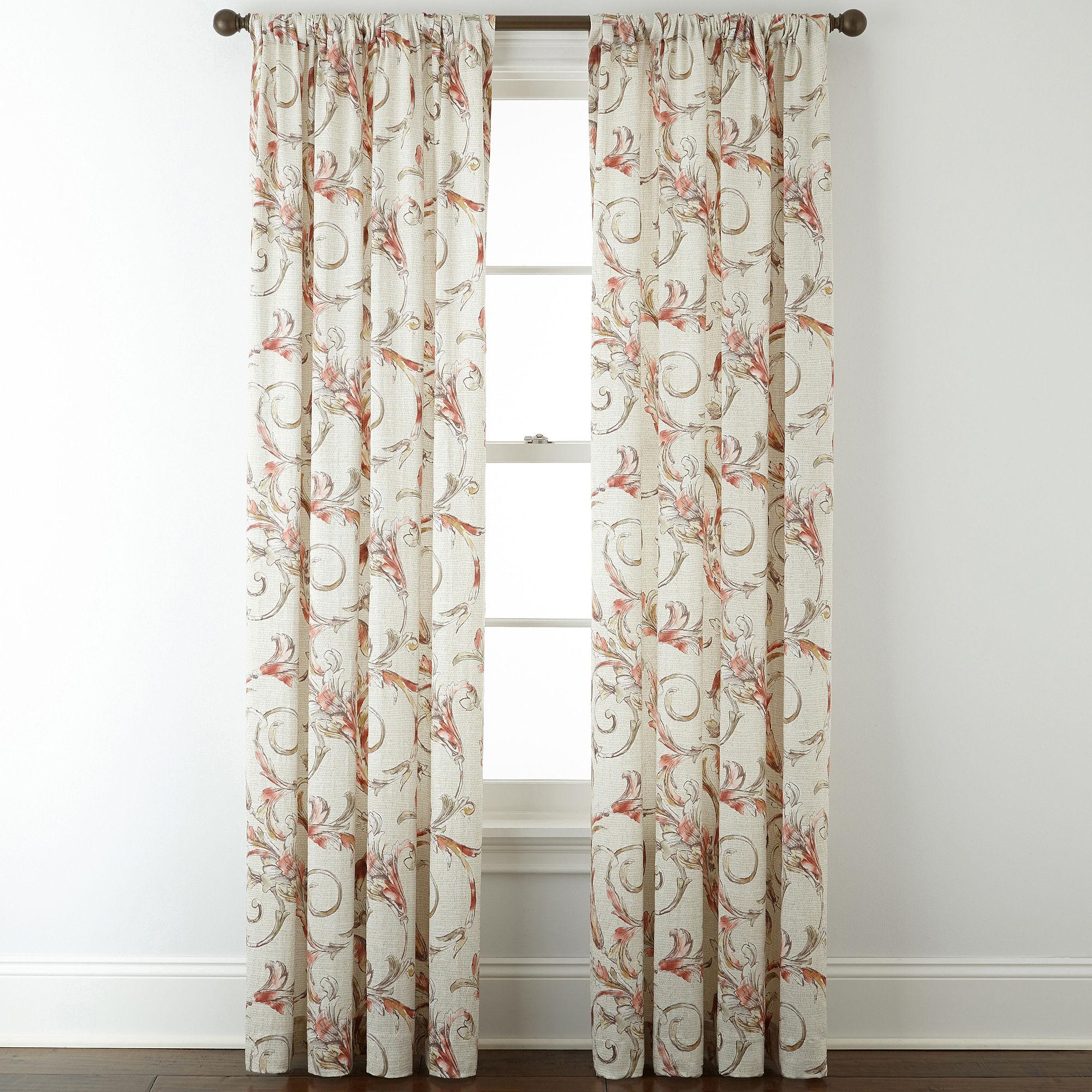 Upc 073145040026 Royal Velvet Diane Rod Pocket Curtain Panel