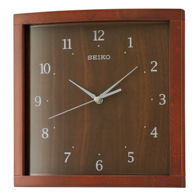 jcpenney.com | Seiko Brown Wall Clock-Qxa675zlh