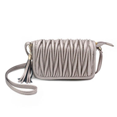 jcpenney.com | Olivia Miller Emery Pebbled Grain Quilted Crossbody Bag