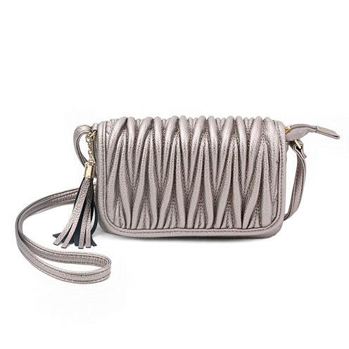 Olivia Miller Emery Pebbled Grain Quilted Crossbody Bag