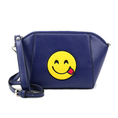 jcpenney.com | Olivia Miller Silly Tongue Emoji Shoulder Bag