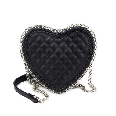 jcpenney.com | Olivia Miller Alura Chain Wrapped Heart Crossbody Bag