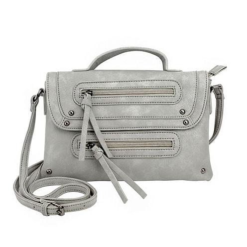 Olivia Miller Sierra Dual Zip Crossbody Bag