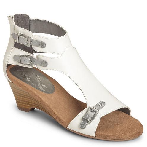 A2 by Aerosoles Mayflower Womens Wedge Sandals