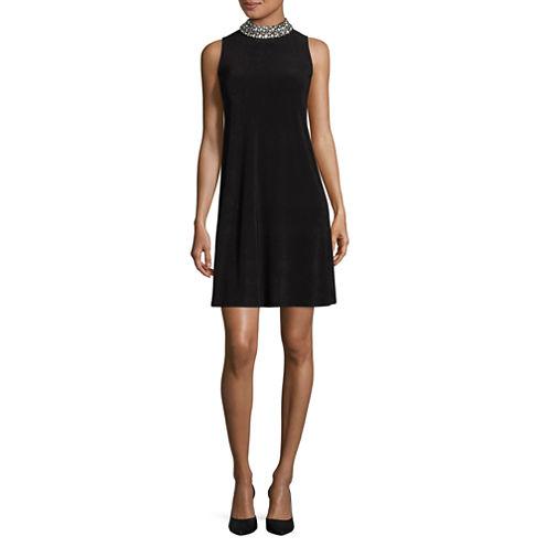 Blu Sage Sleeveless Embellished Party Dress