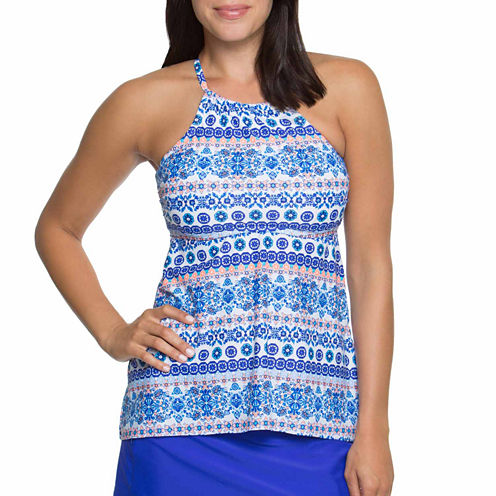 Aqua Couture Tankini Swimsuit Top