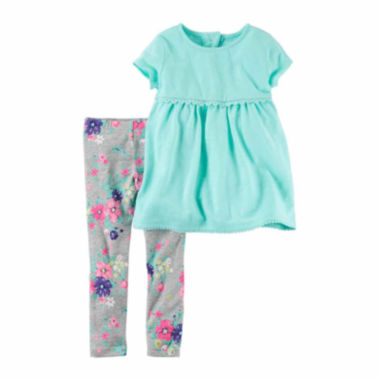 jcpenney.com | Carter's Legging Set-Baby Girls