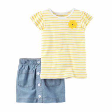 jcpenney.com | Carter's Girls 2-pc. Short Sleeve Short Set