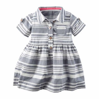 jcpenney.com | Carter's Short Sleeve A-Line Dress - Baby Girls