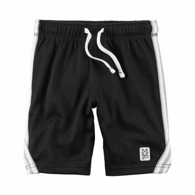 jcpenney.com | Carter's Infant Boys Black Tiered Shorts