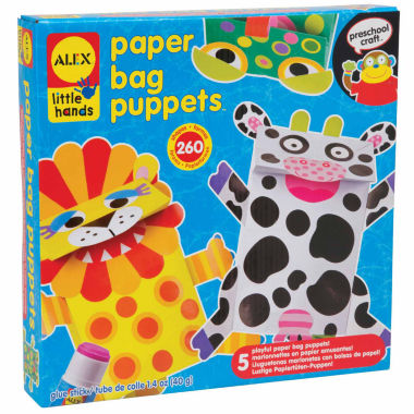 jcpenney.com | ALEX Toys Little Hands Paper Bag Puppets