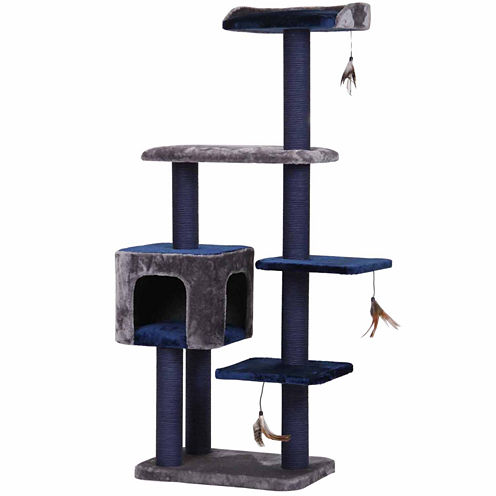 Petpals Midnight Molly 60in Cat Codo