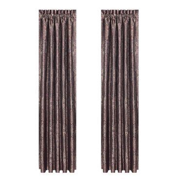 jcpenney.com | Queen Street Bellissa 2-Pack Rod-Pocket Curtain Panel