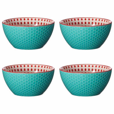 jcpenney.com | Pfaltzgraff Red Dot Set of 4
