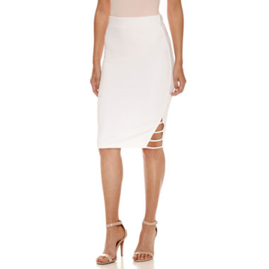 jcpenney.com | Bisou Bisou Side Band Skirt