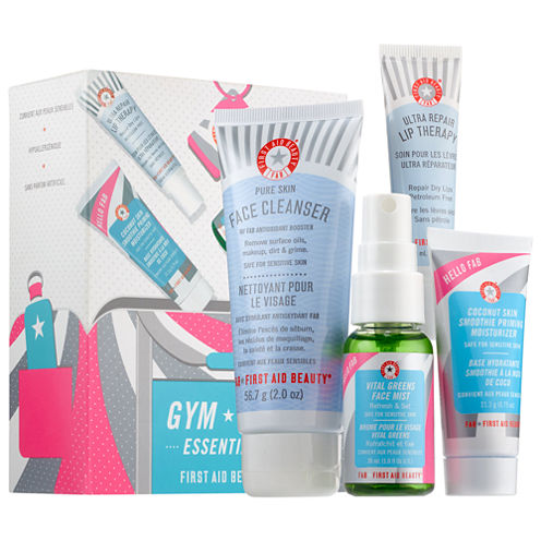 First Aid Beauty Hello Fab Gym Bag Essentials Kit