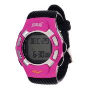 Everlast® Heart Rate Monitor Pink Bezel Sport Watch