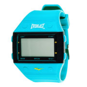 Everlast® Aqua Silicone Strap Digital Sport Watch
