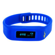 Everlast® Activity Tracker Blue Silicone Strap Digital Sport Watch