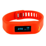 Everlast® Activity Tracker Red Silicone Strap Digital Sport Watch