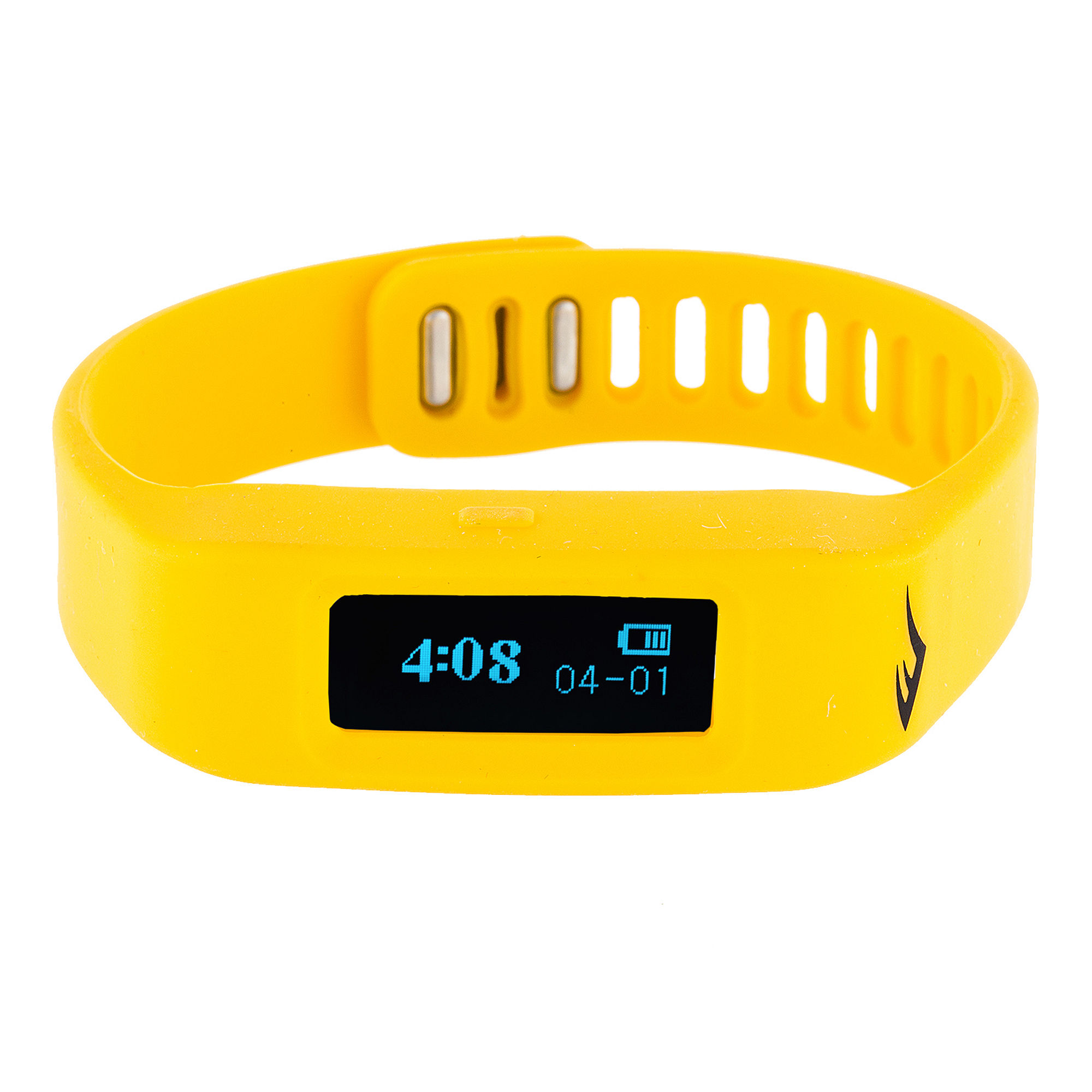 Everlast Activity Tracker Yellow Silicone Strap Digital Sport Watch
