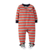 Carter's® Long-Sleeve Footed Dog Pajamas – Boys 12-24m