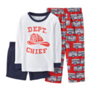 Carter's® 3-pc. Mix-and-Match Fire Department Pajama Set – Boys 2t-5t