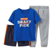Carter's® 3-pc. Mix-and-Match Football Pajama Set - Boys 2t-5t