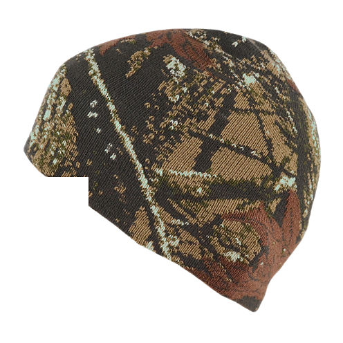 QuietWear® Knit Digital Camo Beanie