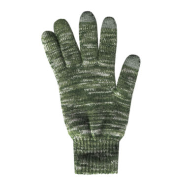 jcpenney.com | QuietWear® 2-Layer Knit Touch Screen Gloves