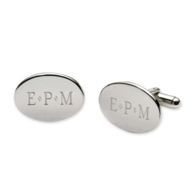 jcpenney.com | Personalized Oval Cuff Links