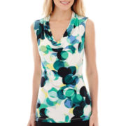 Worthington® Essential Sleeveless Cowlneck Top