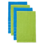 JCPenney Home™ Utility Set of 4 Dish Towels
