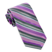 Stafford® Striking Stripe Silk Tie