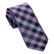 Stafford® Bright Buffalo Silk Tie