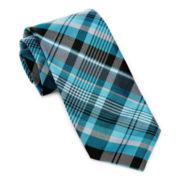 Stafford® Vivid Plaid Silk Tie