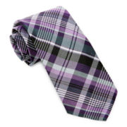 Stafford® Vivid Plaid Silk Tie
