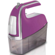 Hamilton Beach® 6-Speed Hand Mixer with Snap-On Case