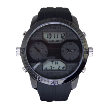 jcpenney.com | ADM Sport Twin Cities Mens Black Silicone Strap Analog Digital Watch