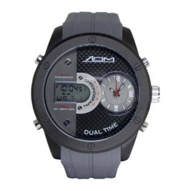 jcpenney.com | ADM Sport Twin Cities Mens Gray Silicone Strap Analog Digital Watch