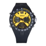 ADM Sport Twin Cities Mens Yellow Analog Digital Watch