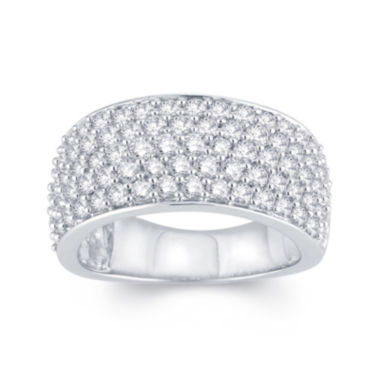 jcpenney.com | LIMITED QUANTITIES 1½ CT. T.W. Diamond 14K White Gold Anniversary Ring