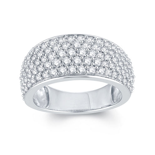 LIMITED QUANTITIES 2 CT. T.W. Diamond 14K White Gold Anniversary Ring