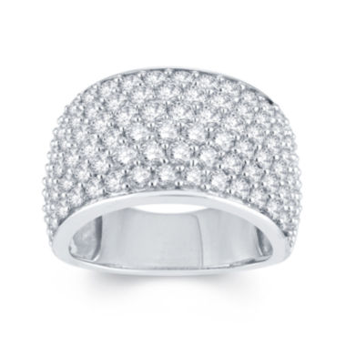jcpenney.com | LIMITED QUANTITIES 3 CT. T.W. Diamond 14K White Gold Anniversary Ring