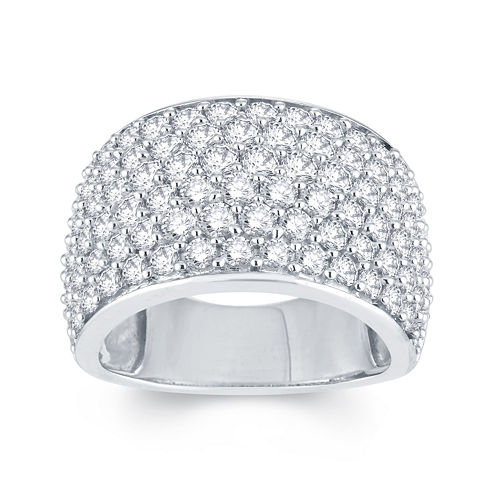 LIMITED QUANTITIES 3 CT. T.W. Diamond 14K White Gold Anniversary Ring